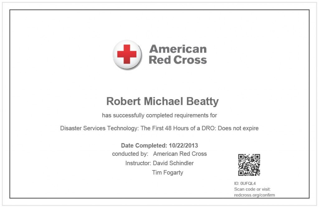 Disaster Services Technology: The First 48 Hours