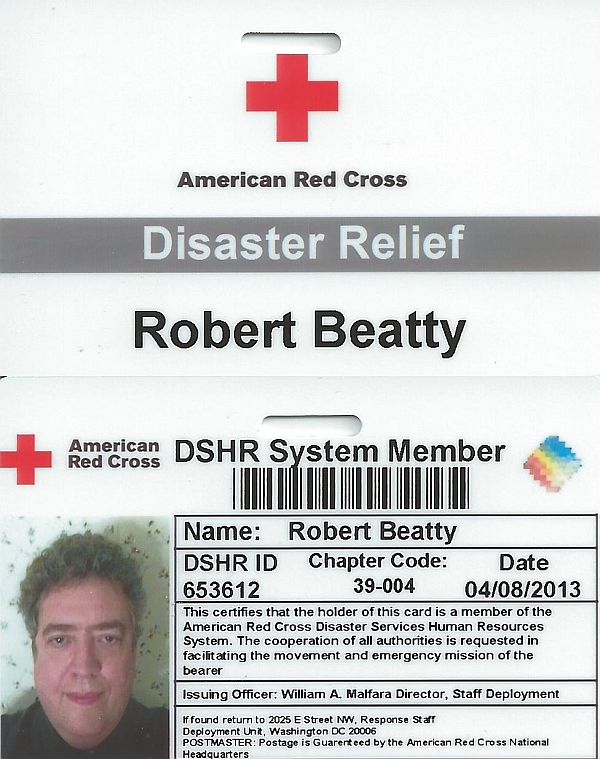 American Red Cross ID