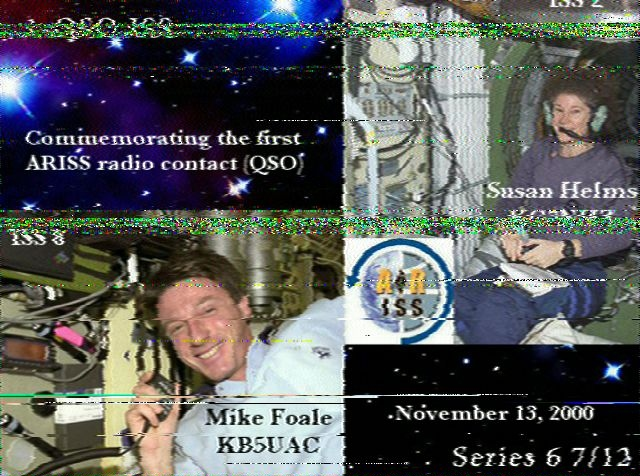 ISS SSTV Reception | WB4SON