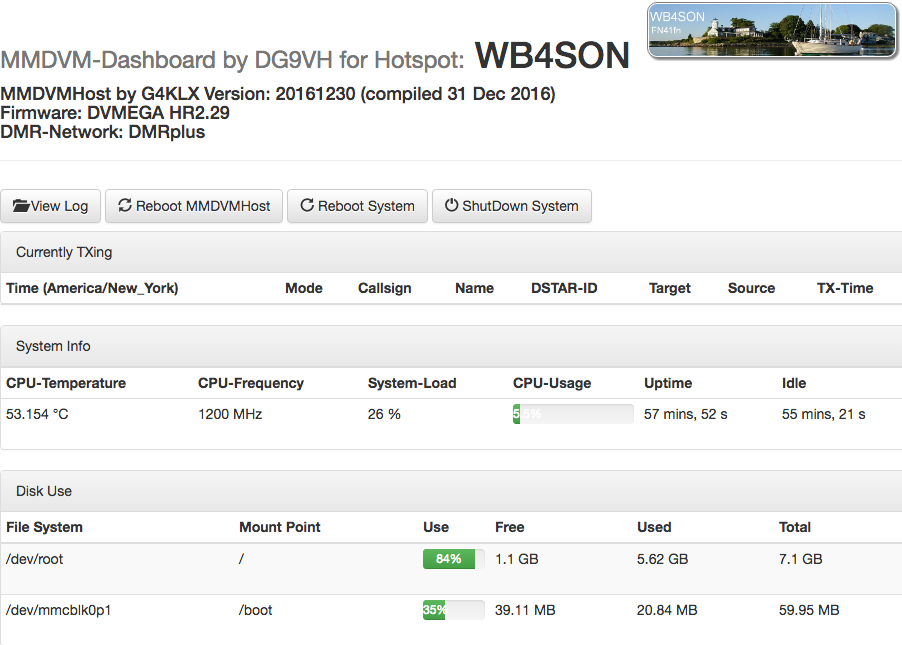 Modifying MMDVMHost-Dashboard Config Values on a RPi | WB4SON